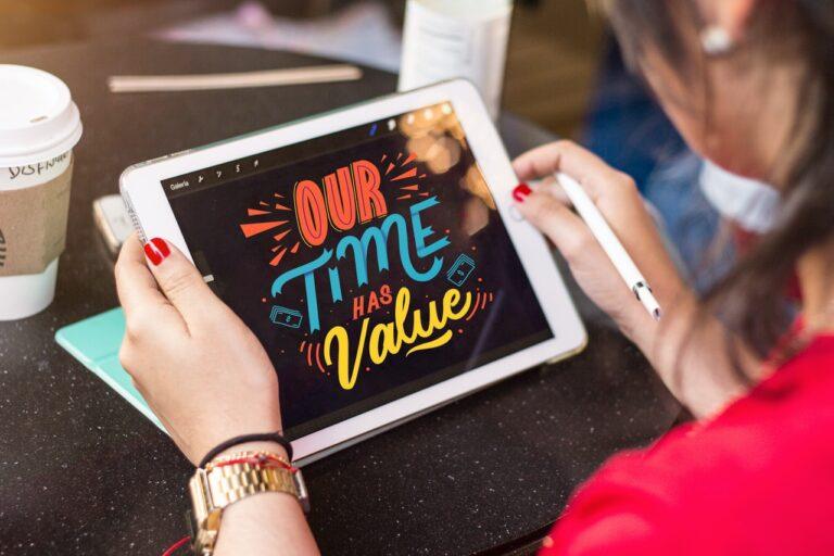 En iPad er den moderne kunstners nye redskab