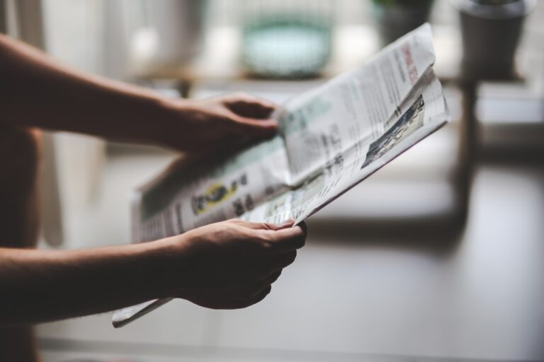 Drømmer du om at holde avis?